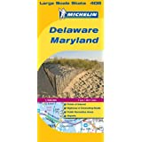 Delaware - Maryland (Michelin Map)