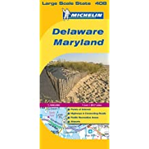 Delaware - Maryland (Michelin Map)