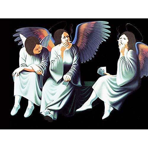MUSIC ALBUM COVER BLACK SABBATH HEAVEN HELL ANGELS 18X24'' PLAKAT POSTER ART PRINT LV10208 -