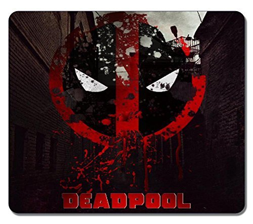 Customized Rectangle Non-Slip Rubber Large Mousepad Gaming Mouse Pad Deadpool 2016 Poster...