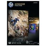 HP Q8698A Advanced Glossy Fotopapier 250g/m² A4 50 Blatt, weiß