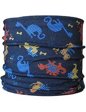 TALLA INFANTI braga para el cuello, pañuelo de microfibra multifunción, diseño de dinosaurio