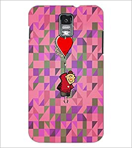 PrintDhaba Funny Image D-4015 Back Case Cover for SAMSUNG GALAXY S5 (Multi-Coloured)