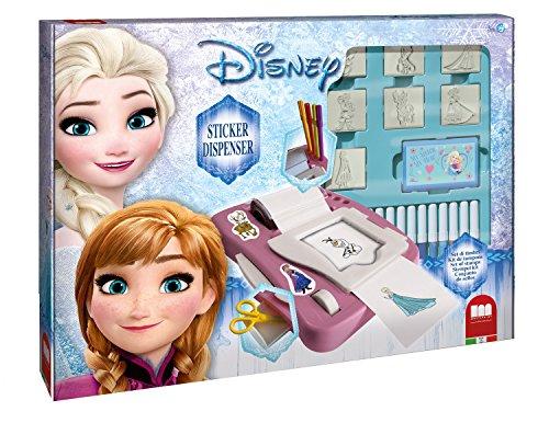 Crea tus pegatinas de Frozen