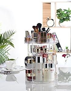 Organizador del Maquillaje - 360 Grados que Giran