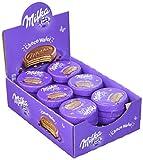 Milka Choco Wafer - Waffel mit Kakaocreme Füllung umhüllt von Alpenmilch Schokolade - Thekendisplay - 30 x 30g