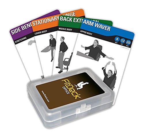 Generic Neue Produkt Bewegung Spielkarten für geführte Workouts, Büro (Ausrüstung Workout Stuhl)