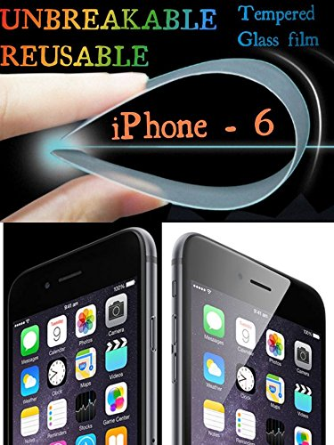 TRINK 0.2mm UNBREAKABLE TEMPERED GLASS REUSABLE Film Guard SCREEN PROTECTOR Apple iPhone 6 - PS FORTUNET