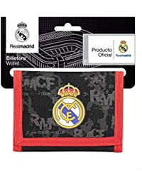 Safta Real Madrid Monedero, 12 cm, Negro
