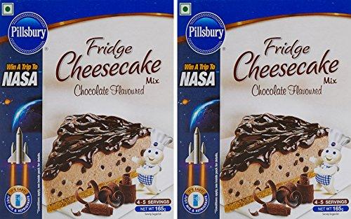 Pillsbury Fridge Cheesecake Mix, Chocolate, 165g (pack Of 2)