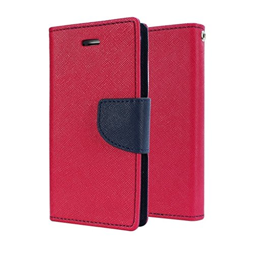 STAPNA Luxury Mercury Diary Wallet Style Flip Case Cover For Samsung Galaxy Grand 2 G7106/7102 -(Pink)  available at amazon for Rs.245