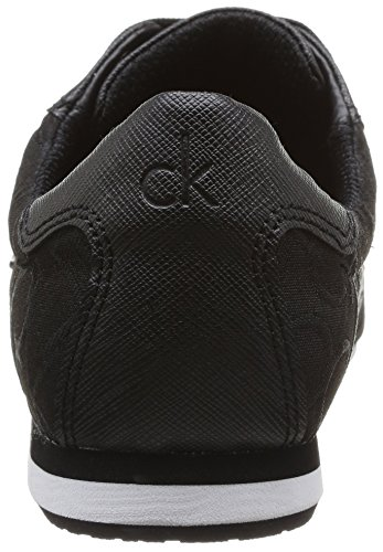 Calvin Klein Gayla Ck Logo 3d, Damen Sneakers Schwarz - Schwarz (BBK)