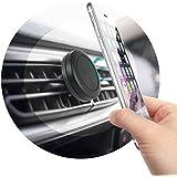 *** UNIVERSEL *** SUPPORT TELEPHONE Voiture Magnétique avec Grille d'aération Support Voiture Auto ventouse Moto Vélo Téléphone Iphone Mini Tablettes Samsung Galaxy S8 Sony et pour TOUT Smartphones