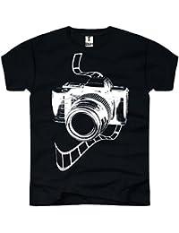 Tee Shirt T-Shirt pour Homme Motif appareil photo