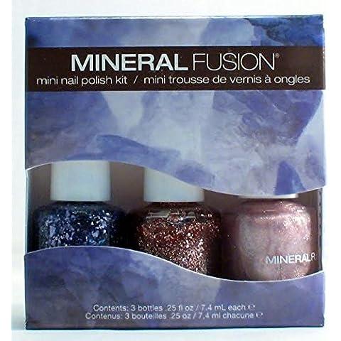 Mineral Fusion Mini Nail Polish Kit, Shimmering Bling, 21 Gram by Mineral Fusion