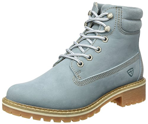 Tamaris Damen 25242 Stiefel, Blau (Denim), 38 EU (Schuhe Womens Denim)
