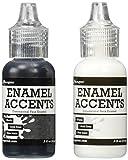 Ranger Enamel Accents, blanco y negro, 14 ml