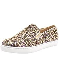 Bertie-v Sneaker, Zapatillas para Mujer, Beige (Taupe), 36 EU Steve Madden