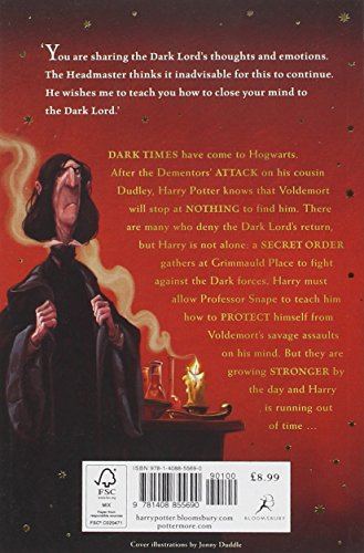 Image of Harry Potter and the Order of the Phoenix: 5/7 (Harry Potter 5)