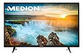 MEDION LIFE P18105 MD 31105 123,2 cm 49' Zoll Smart-TV mit LED-Backlight Technologie, Full HD, HD Triple Tuner DVBT-2 DVB-C DVB-S2, PVR, HbbTV, WLAN, Wireless Display, schwarz