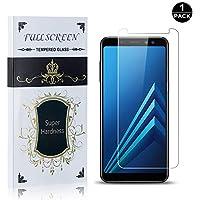 Bear Village® Protector de Pantalla Galaxy A8 2018, 9H Dureza Cristal Templado, Alta Definicion, 3D Touch Protector de Pantalla para Samsung Galaxy A8 2018, 1 Piezas