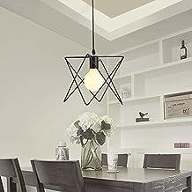 Nordic semplice lampade pasticceria ristorante Snack Bar metallo negozio di abbigliamento selvaggio lampada a sospensione minimalista creativo lampada lampadario di pesce linea lampadario e27Max 60W Ø25cm