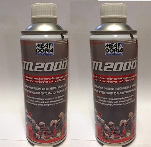 Zusatzstoff M2000Behandlung Öl Motor an Teflon Anti Verschleiß 2Stück