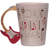 Ted Smith Ceramic Sheet Music Guitar Handle Mug - Assorted Designs Sold Separately