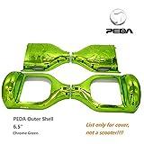 peda Chrome à deux roues d'équilibre 16,5cm Smart Étui Hoverboard DIY Coque extérieure vert Vert 6.5 inch
