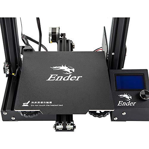 Official Creality 3D Store Ender 3 PRO 3D-Drucker mit magnetischer Oberfläche und MeanWell Netzteil - 3