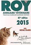 Annuaire vétérinaire Roy 2015