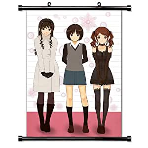 amagami anime jeu en tissu poster 32 x 46 cm cuisine maison. Black Bedroom Furniture Sets. Home Design Ideas
