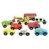 Bigjigs - Pack vehículos (BIBJT060)