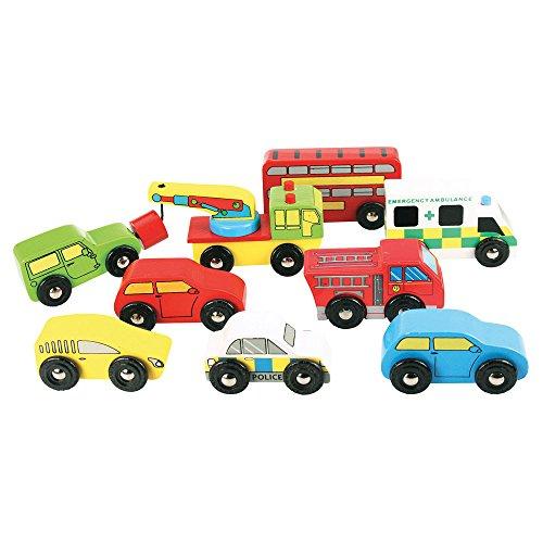 Bigjigs Rail Lot de véhicules