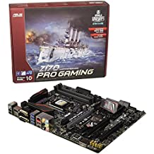 ASUS Z170 Pro Gaming - Placa base ATX (DIMM, 4 x DDR4, 64 GB, Dual, Intel, PC, UEFI AMI, Socket 1151,