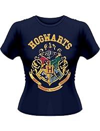 Playlogic International(World) Harry Potter Crest Gts - Camiseta manga corta Mujer