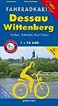 Fahrradkarte Dessau, Wittenberg: Mit...
