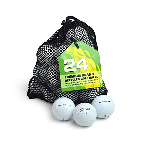Second Chance Titleist NXT Tour Lot de 24 balles de Golf Grade B Blanc