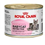 12 x Royal Canin Feline Lata Health Nutrición Babycat Instintiva 195g, Comida húmeda, Comida para gatos