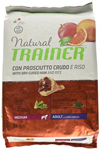 Natural Trainer Trainer Natural Medium Schinken Riso kg. 3 Cibo Eimer für Hunde, Mehrfarbig, Einheitsgröße -