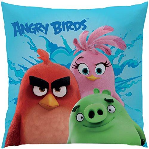 Angry Birds 043480 Kissen Explosion, Polyester, 40 x 40 cm (Angry Bird Kissen)
