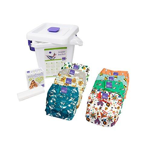 Bambino Mio Miosolo kit de pañales lavables, mezcla puede variar