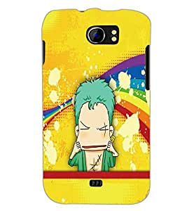 PrintDhaba Cartoon D-5794 Back Case Cover for MICROMAX A110 CANVAS 2 (Multi-Coloured)