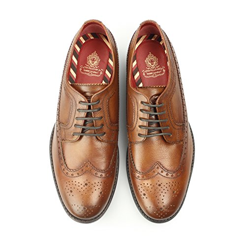 Base London Herren Bailey Brogue Tan