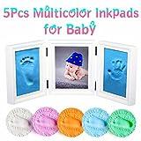 MCREE 5-pcs baby tinte pad für baby - fußabdrücke handabdrücke fingerabdrücke kit, perfekt halten baby erinnerung babyparty geschenkt