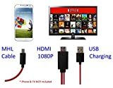 Lambent Micro USB MHL to HDMI Cable Adapter HDTV for Smartphones