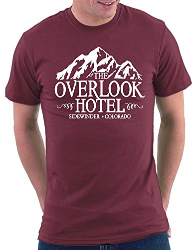 Shining Overlook Hotel T-shirt Bordeaux
