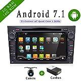 Android 6.0Quad Core GPS DVD de voiture Play 17,8cm GPS lecteur DVD de voiture pour Opel Astra Vectra Zafira Antara Corsa radio Navigation Audio Stéréo et vidéo couleur noir gratuit Camera & CANBUS