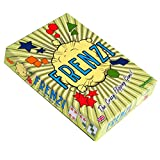 FRENZI - The Fastest, Frenzied, Flipping Fun Card Game in the World. Party Card Game for adults, teenagers & kids