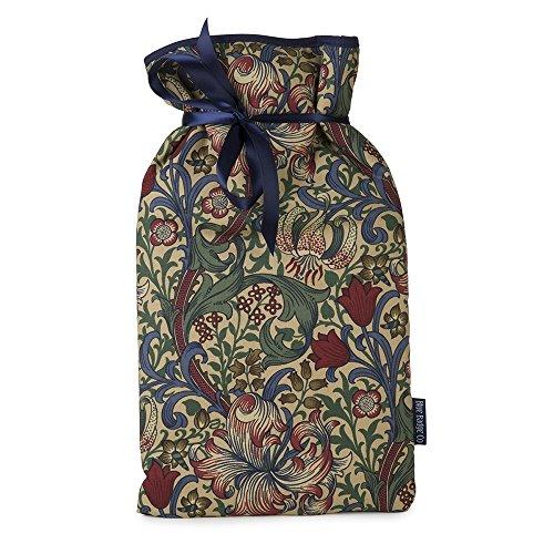 Blue Badge CO große Wärmflasche mit weichen Bezug in William Morris Golden Lily